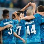 Lyon'u evinde deviren Zenit avantajı aldı!