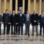 Ankaragücü yönetiminden Anıtkabir'e ziyaret