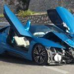 Bu kazayı görenler şaştı kaldı: Kağıt gibi ezildi!