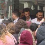 Efsane cuma çılgınlığında 3 kişi yaralandı