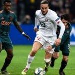Yusuf ve Zeki'li Lille, Ajax'a yenilip Avrupa'ya veda etti