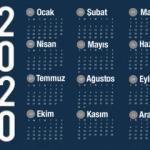 2020 Resmi tatil günleri belli oldu! Plan yapanlar için 9 günlük bayram tatili...