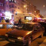 4 kişinin yaralandığı kaza güvenlik kamerasına yansıdı