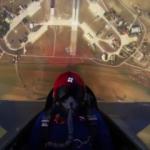 Muhteşem görüntüler...15 saniyede 15 bin feet yüksekliğe çıktı