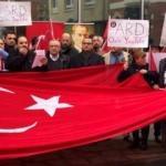 Atatürk'e yönelik yapılan çirkin yayın protesto edildi