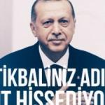Cumhurbaşkanı Erdoğan için özel hazırlanan video