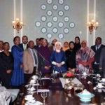 Emine Erdoğan Somali diasporası temsilcileriyle görüştü