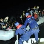 İzmir'de 75 göçmen yakalandı