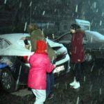 Kırklareli'nde başladı... Kar İstanbul'a yaklaşıyor