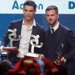 Messi Ballon d'Or alırken Ronaldo İtalya'da ödül aldı