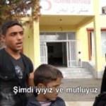 Tel Abyad'da artık yüzler gülüyor