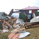 Trabzon'da 160 kaçak yapı yıkıldı