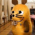 Almanya fareye liyakat nişanı verdi