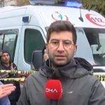 DHA muhabirine canlı yayında saldırı!