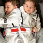 Fahriye Evcen oğlu Karan'ın yüzünü ilk kez gösterdi! 8 aylık Karan bebek...