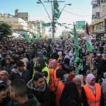 Hamas'ın kuruluşunun 32. yıl dönümü Gazze'de kutlanıyor