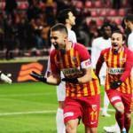 Süper Lig'de günün maçı sona erdi...