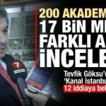 Mehmet Tevfik Göksu'dan 12 soruda Kanal İstanbul yanıtı