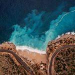 Antalya'nın dünyaca ünlü Kaputaş plajında görsel şölen