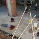 Cami inşaatında çalışan işçinin acı sonu