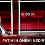İlber Ortaylı'dan Ahmet Hakan'a Fatih Sultan Mehmed dersi!