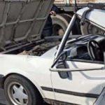 Kamyon otomobile çarptı: 2 yaralı