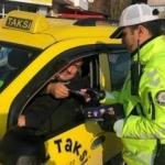 Polis sürücüleri tek tek uyardı