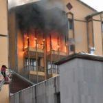 Son dakika: Sarıkamış'ta otel yangını