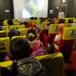 TSK Tel Abyadlı çocukları ilk defa sinema ile tanıştırdı
