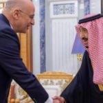 Yunanistan Dışişleri Bakanı Suudi Arabistan'da!