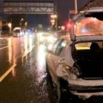 Alkollü sürücü makas attı, faciadan dönüldü