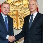Cumhurbaşkanı Erdoğan, Tunus'ta! Dikkat çeken anlar...