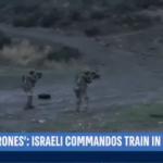 Dikkat çeken görüntü! İsrail askerleri Kıbrıs'ta