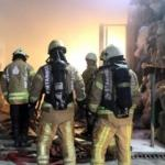 Kumaş fabrikasında korkutan yangın
