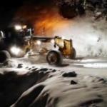 Mersin'in yüksek kesimlerinde kar kalınlığı 1,5 metreye ulaştı