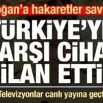 Cumhurbaşkanı Erdoğan'a hakaretler savurup Türkiye'ye karşı cihat ilan etti