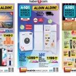 9 Ocak A101 aktüel kataloğu! Züccaciye ve elektronik ürünlerde...