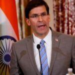 ABD Savunma Bakanı Esper: ABD, Irak'tan çekilmiyor