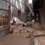 Beyoğlu'nda inşaat halindeki binada çökme