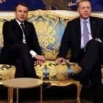 Erdoğan-Macron görüşmesine damga vuran an: Sizinki de Dubai'de keyif çatıyor