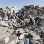 'Husiler insani yardım yüklü 440 kamyonu yağmaladı'