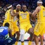 LeBron James Jordan'ı geçti, Lakers rahat kazandı