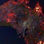 Bir kıta cayır cayır yanıyor