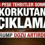 ABD Başkanı Trump'tan korkutan İran açıklaması!