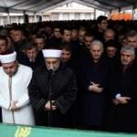 Tevfik Göksu'nun annesi Fatma Göksu için cenaze namazı kılındı