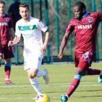 Trabzonspor ile Bursaspor'dan golsüz prova