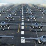 Trump'ın '52 hedef vurulabilir açıklamasının' ardından 52 adet F-35 havalandı