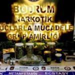 Bodrum'da çok sayıda uyuşturucu madde ele geçirildi