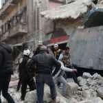 Esad rejimine ait savaş uçakları Halep'i vurdu: 4 sivil öldü