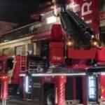 İstanbul'da kafede çıkan yangın söndürüldü